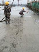 混凝土浇筑作业